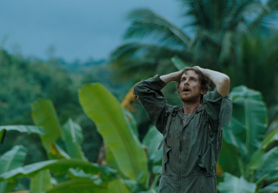 Christian Bale i Rescue Dawn.