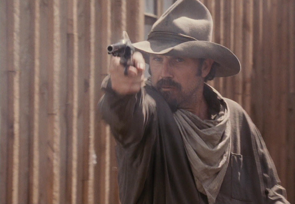 Kevin Costner i Open Range.
