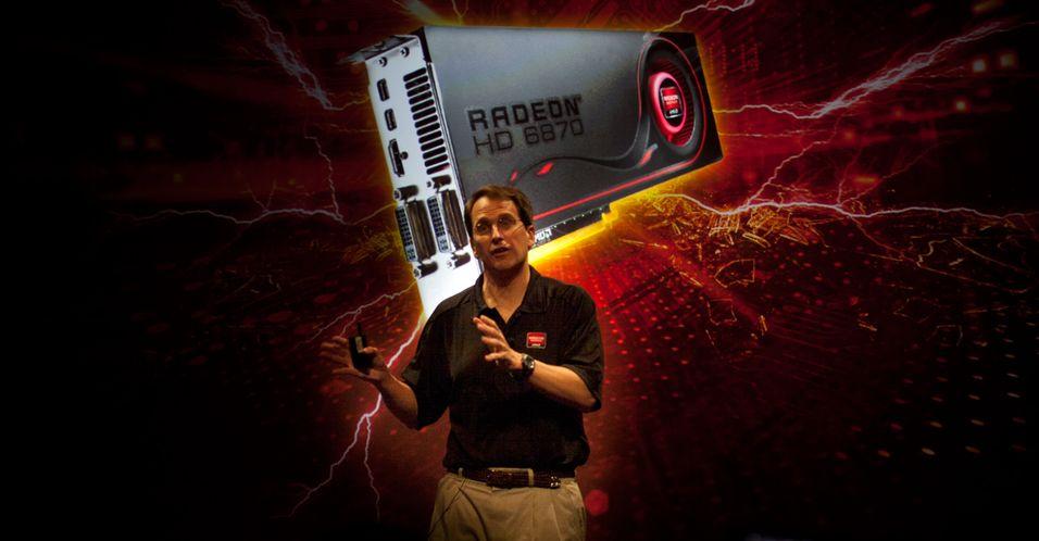 Rick Bergman, Senior Vice President & General Manager, AMD Products Group, snakker under presentasjonen i Los Angeles. (Foto:Hardware.no, Rolf B. Wegner)