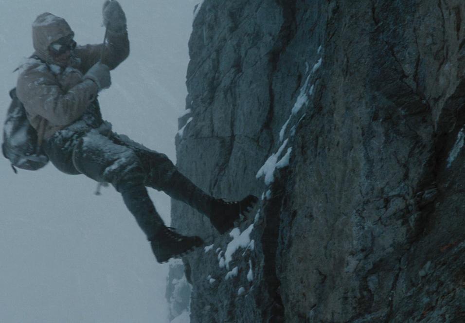 Florian Lukas som Andi Hinterstoisser i North Face.