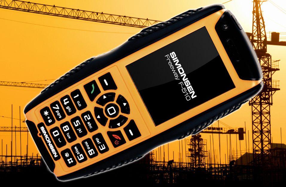 Lanserer robust telefon med sveiv