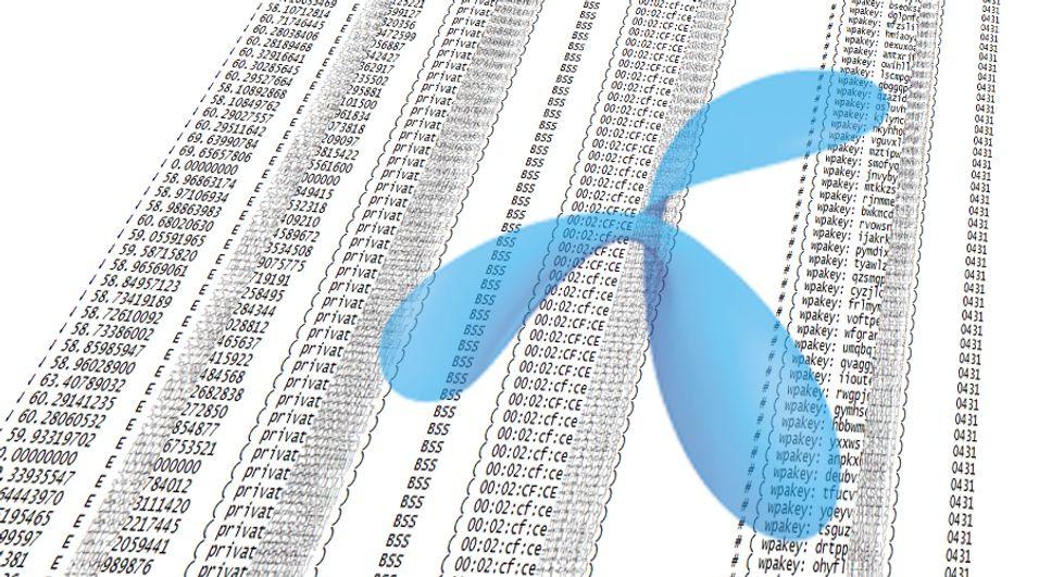 Nettverksnavn og -nøkler på ville veier