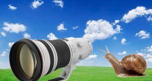 Canon bekrefter forsinket optikk