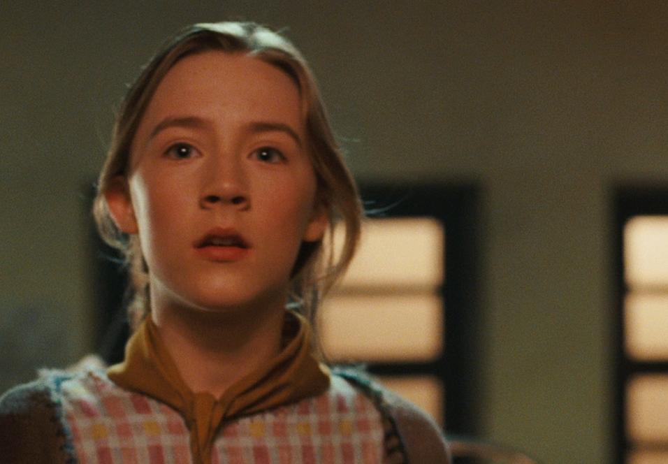 Saoirse Ronan som Lina Mayfleet i City of Ember.