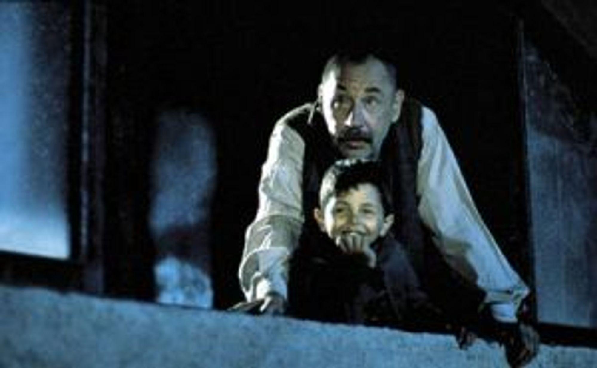 Toto og Alfredo deler lidenskapen til filmen.
