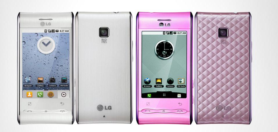 LG GT540 har fått Android 2.1