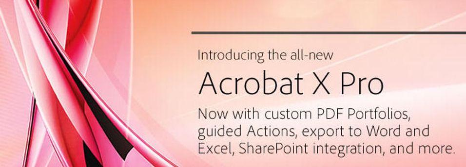 Adobe Acrobat X ute