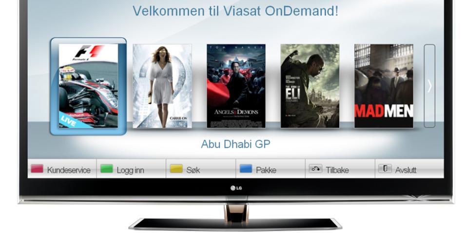 Viasat og LG  samarbeider