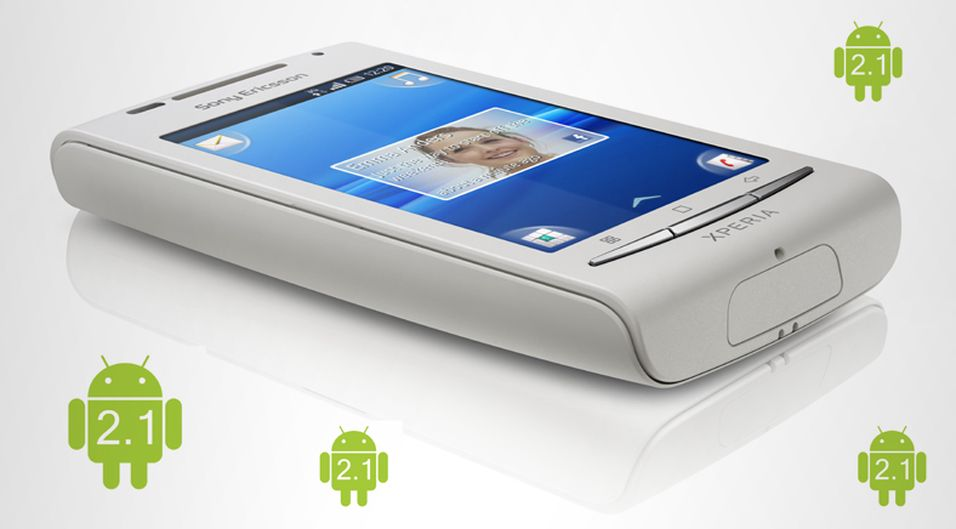 X8 får Android 2.1