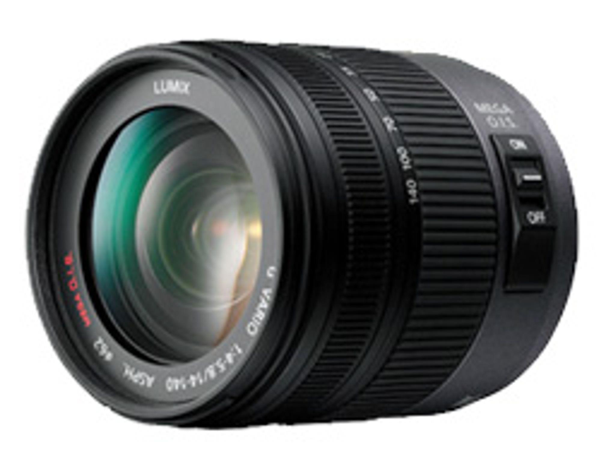 Panasonic Lumix Vario 14-140 mm.