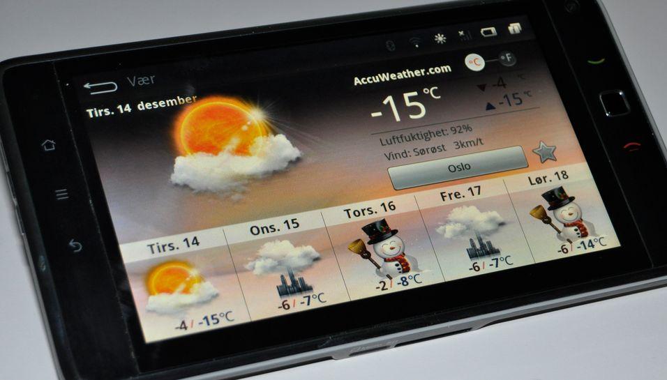 SNIKTITT: Huawei Ideos S7