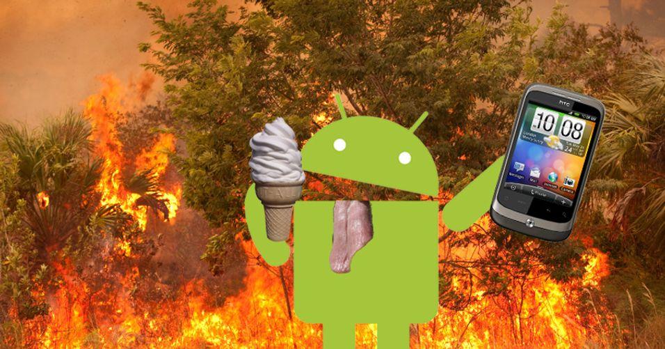 Nå får HTC Wildfire Froyo