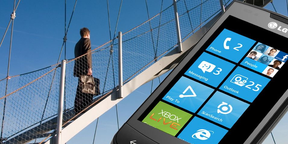 Milepæl for Windows Phone 7