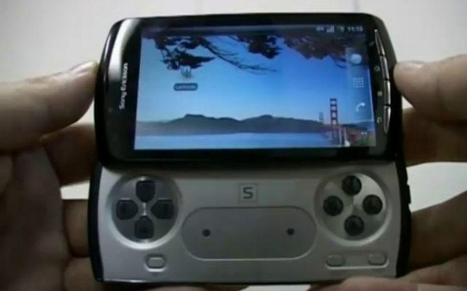 Slik vil ryktene ha det til at PSP-telefonen skal se ut. Muligens blir den hetende Xperia Play.