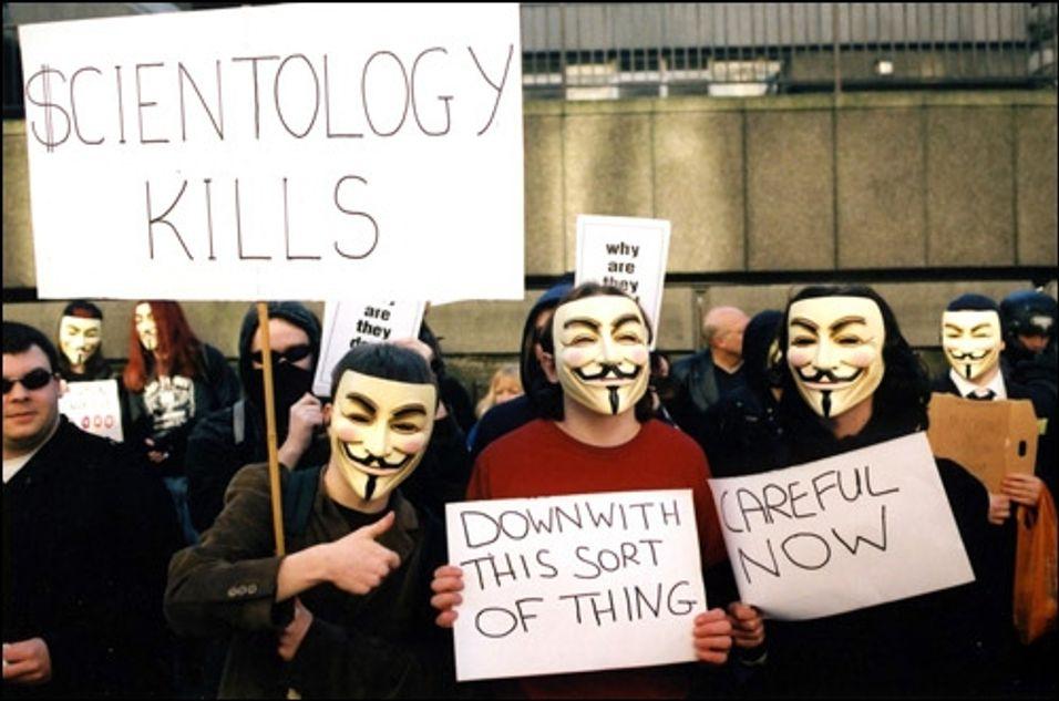 Anonymous tar hevn på USA