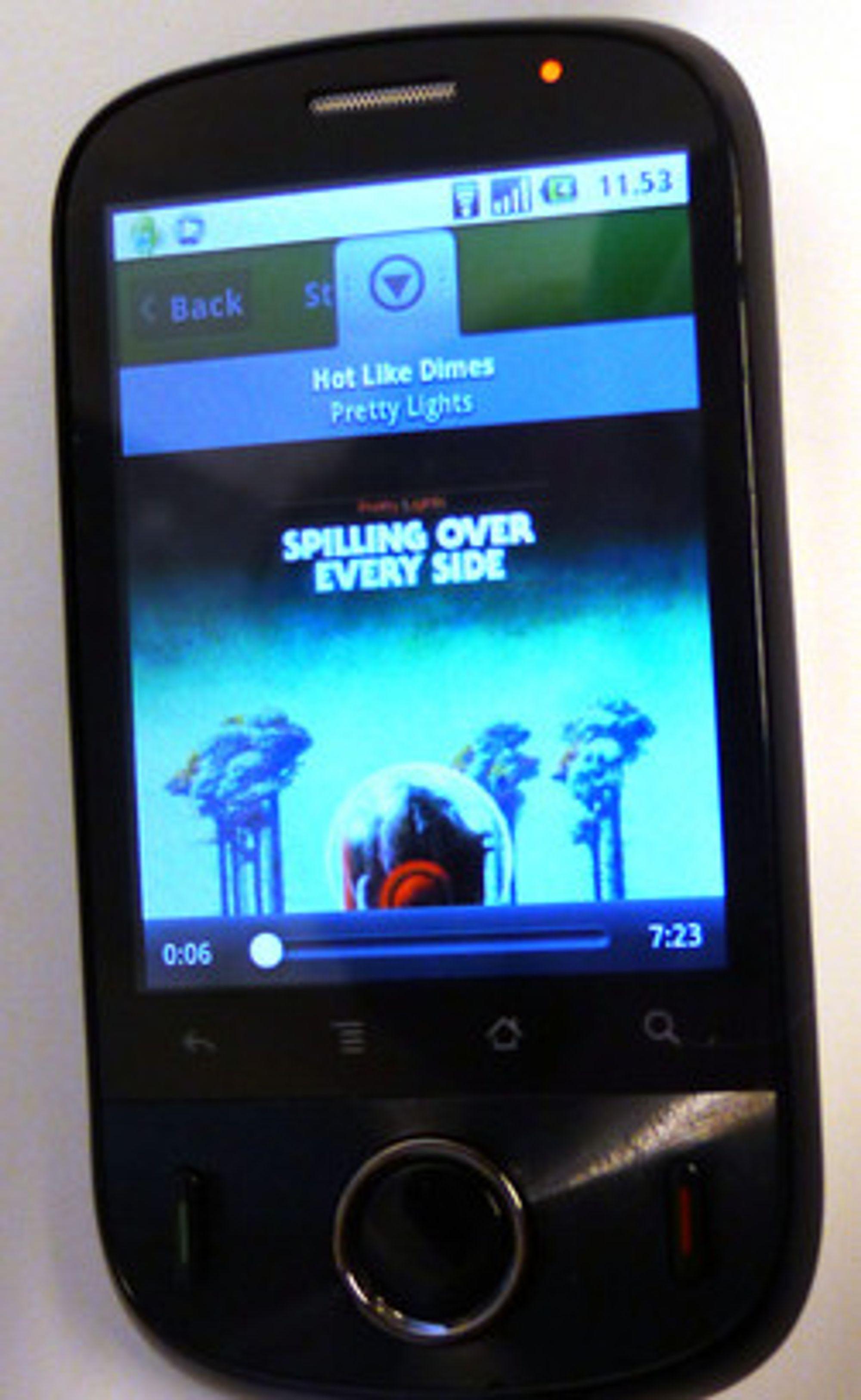 Huawei Ideos er en av telefonene den kinesiske produsenten har tatt til Norge i 2010.