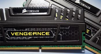Test: Corsair Vengeance DDR3-1600 2x4GB CL9