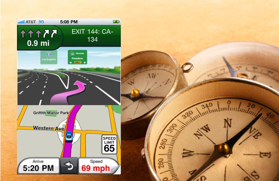 Garmin lanserer Iphone-navigasjon