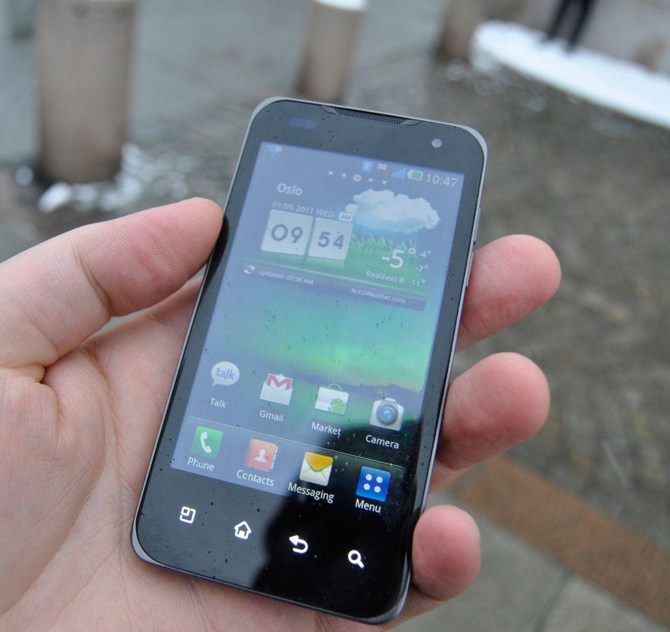 SNIKTITT: Vi tafser på den første Tegra 2-telefonen