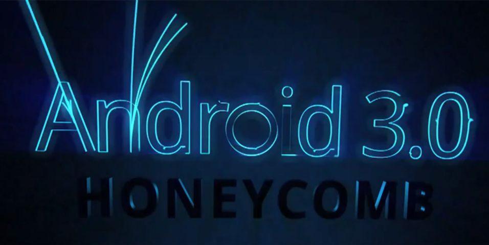 Hils på Android 3.0 Honeycomb