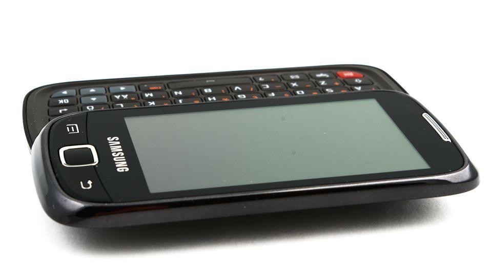Tastaturet viser seg mot formodning ikke å være Galaxy 551s fremste egenskap.