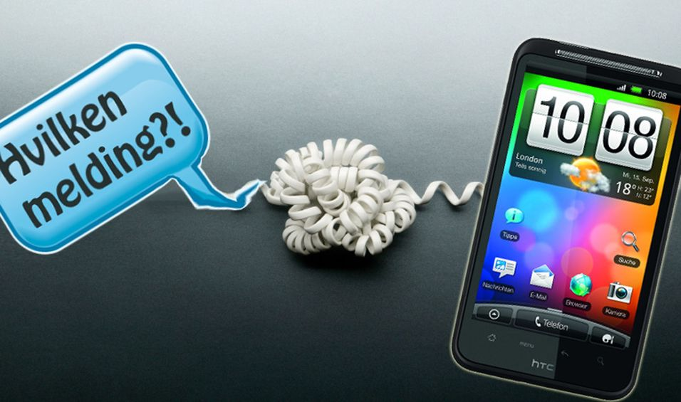 Desire HD har problemer med SMS