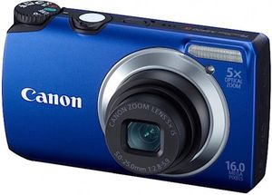 Billig kompaktkamera: Canon PowerShot A3300 IS