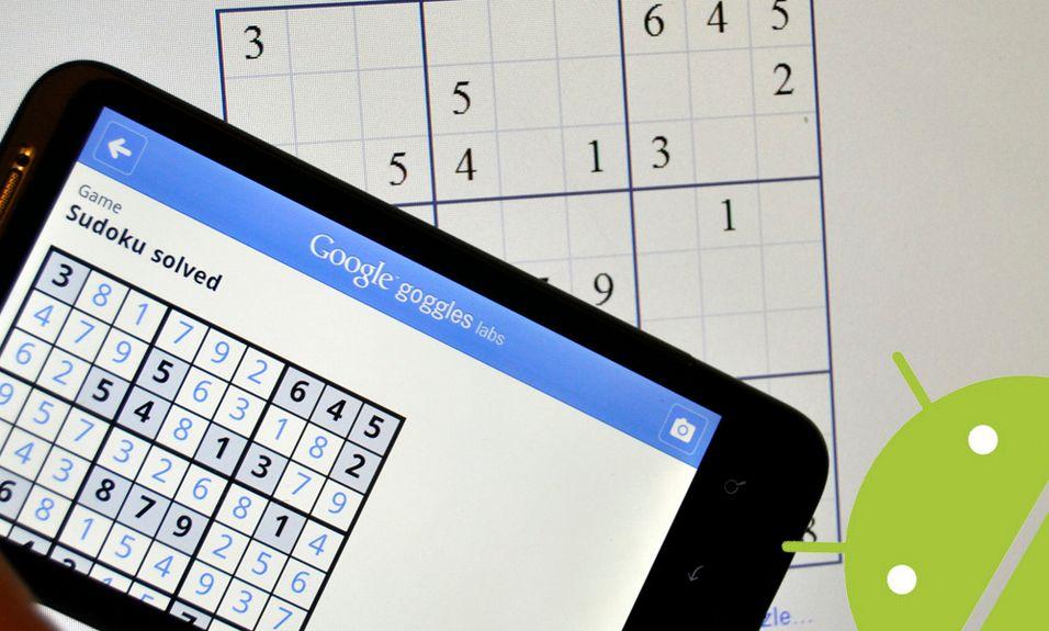 Se mobilen løse Sudoku