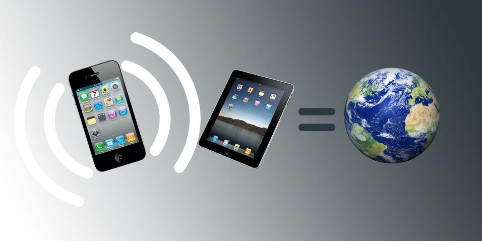 Endelig kan Iphone dele internett
