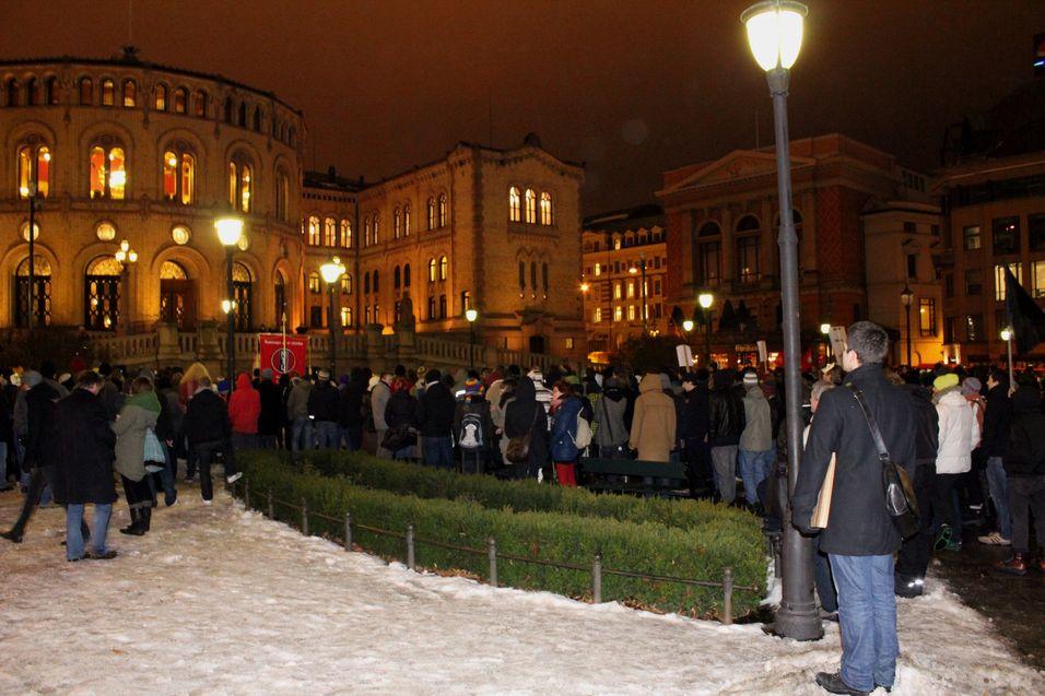Fra DLD-demonstrasjonen i januar 2011