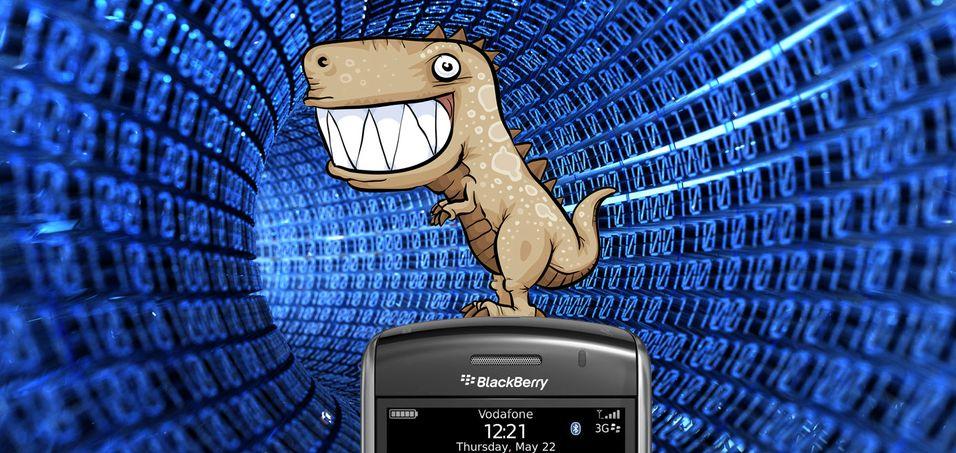 Rykter om ny monster-Blackberry