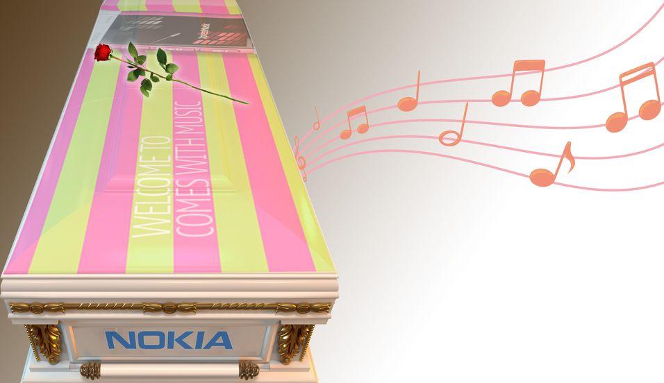 Nokia gravlegger musikktjeneste