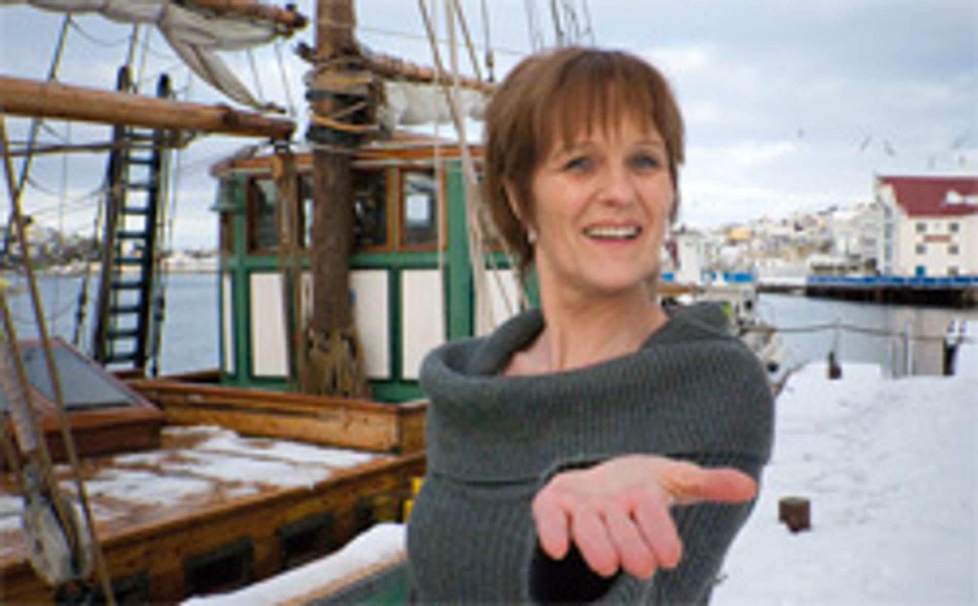 Festivaldirektør Anne Lise Flavik.