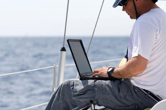 Pass på mobilutgiftene til sjøs!