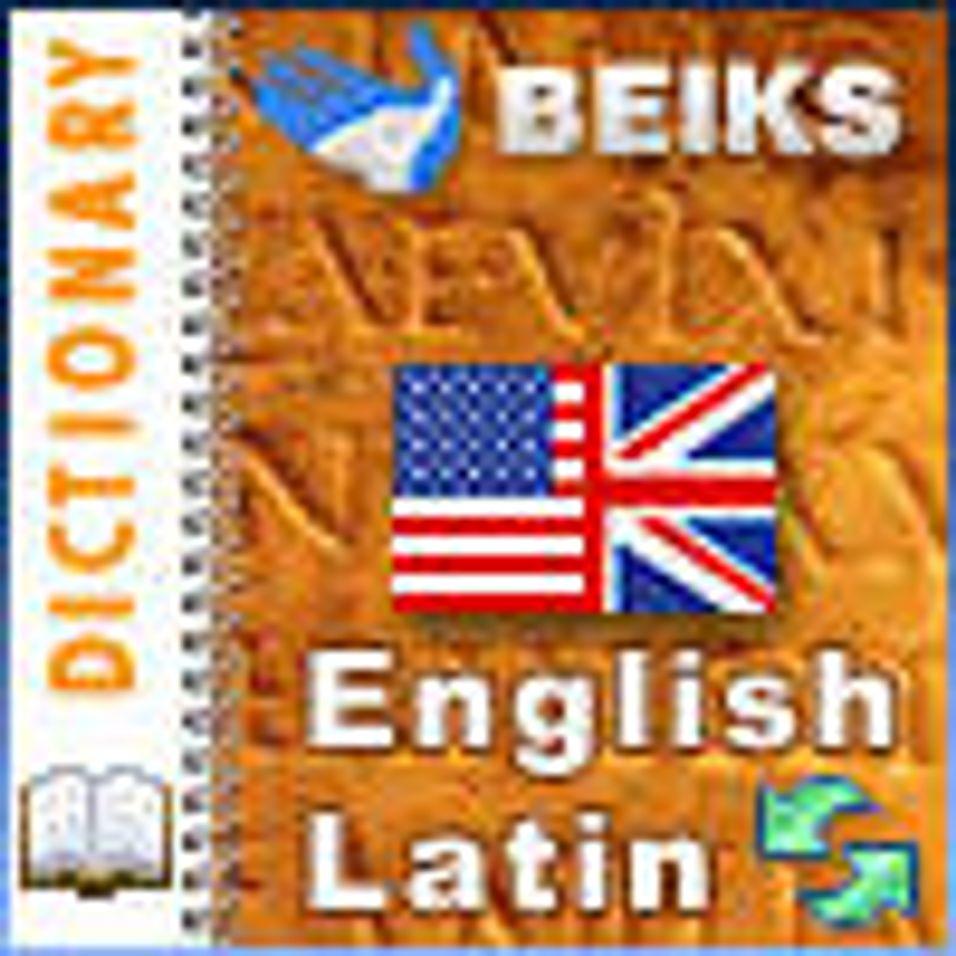 Engelsk - latinsk ordbok