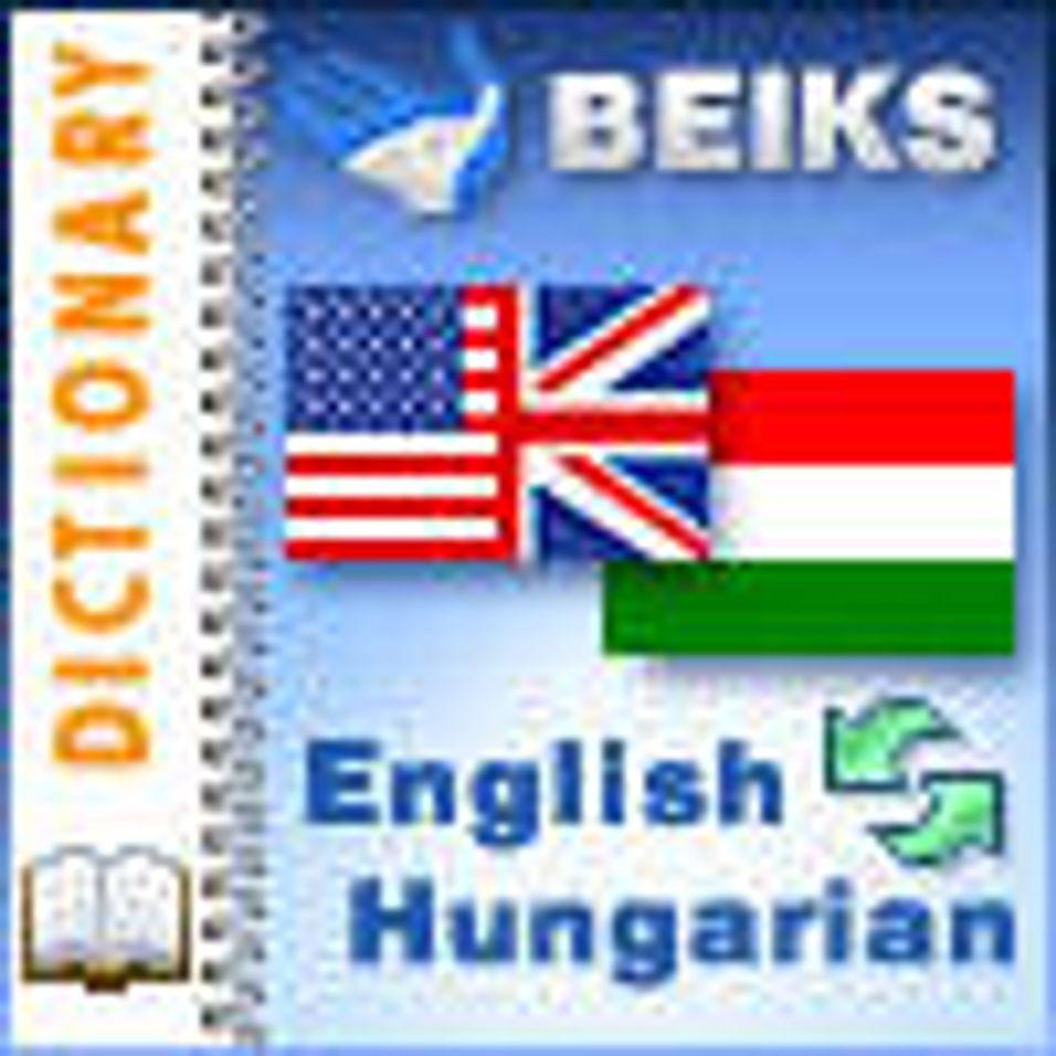 Ungarsk - engelsk ordbok