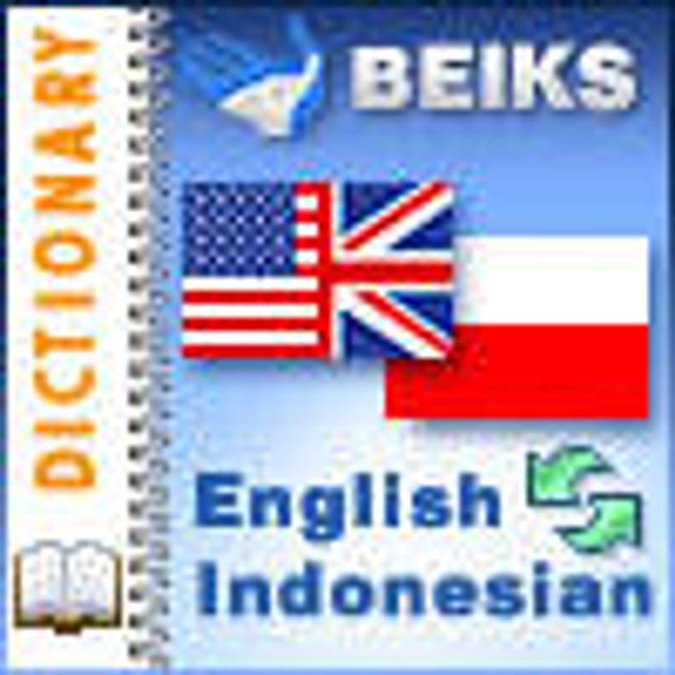 Engelsk - indonesisk ordbok