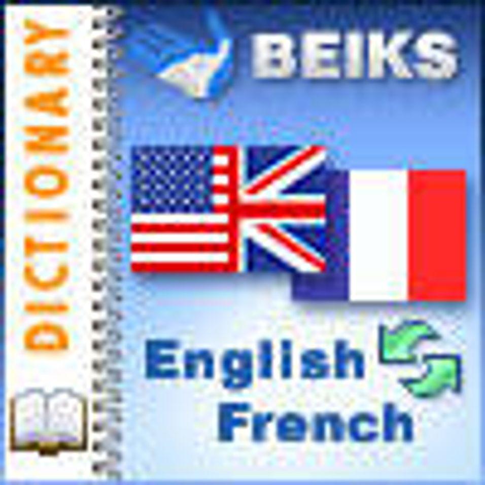 Fransk - engelsk ordbok