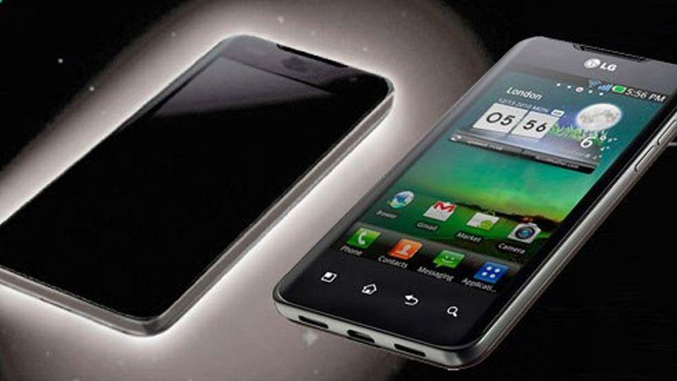 LG slipper mobil og nettbrett med 3D