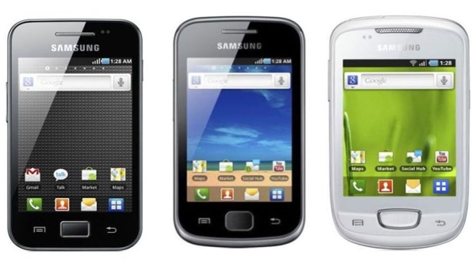 Samsung med rimelig Android-trio
