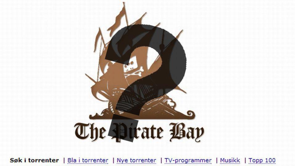 - Filene fra Pirate Bay er falske