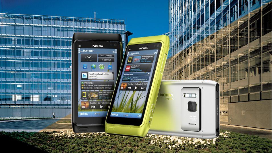Nokia tjener mindre