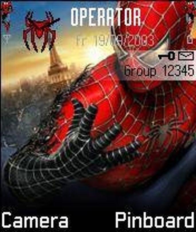 Spiderman 3 mobiltema