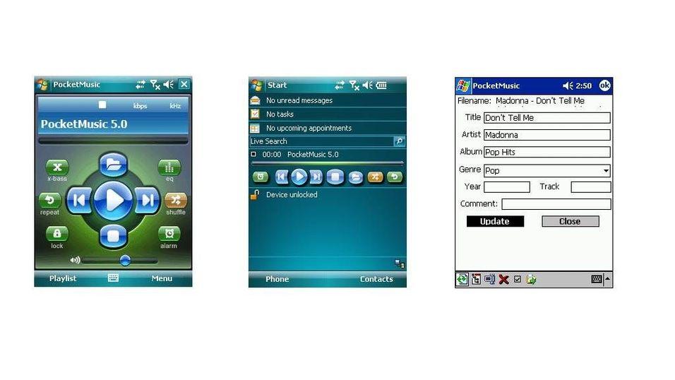Pocket Music player bundle v5.0