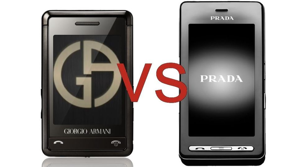 TEST: Armani vs. Prada