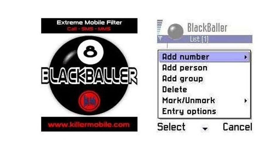 BlackBaller Call/SMS Filter