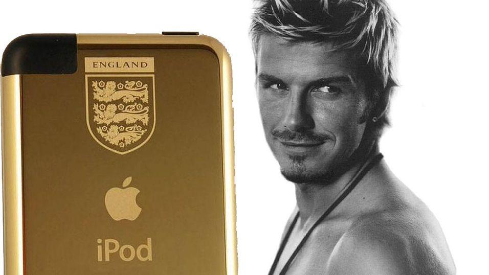 Gullgave til David Beckham
