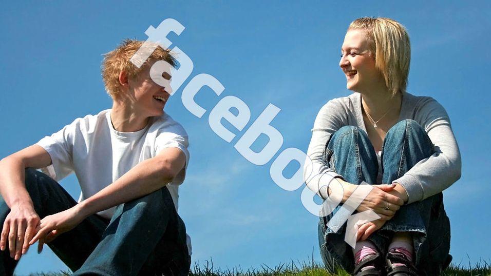 Snakk med venner via Facebook
