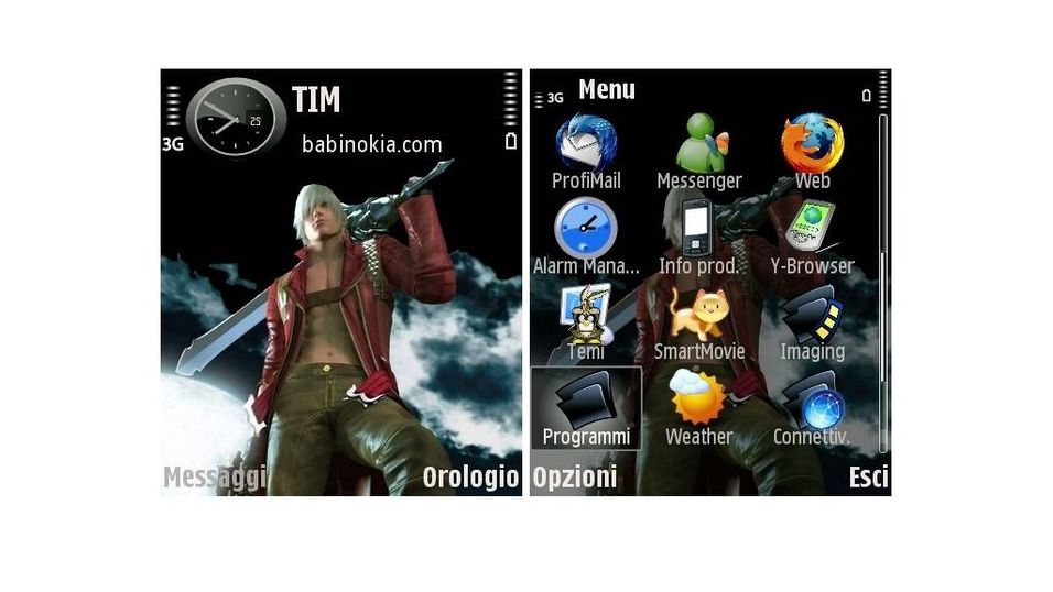 Devil May Cry mobiltema