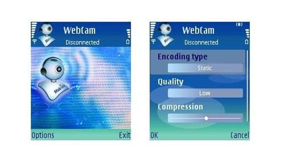 Mobiola webcam